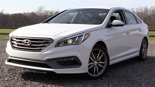 2016 Hyundai Sonata Sport 2.0t Start Up, Road Test, and In Depth Review