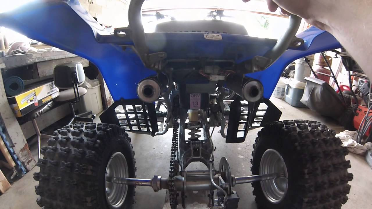Yamaha Blaster Exhaust Leak