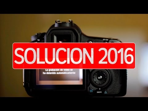 La grabacion de video se ha detenido automaticamente (Solucion) 2014