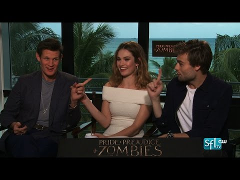 Pride and Prejudice and Zombies - Matt Smith, Lily James, Douglas Booth