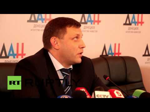Ukraine: 'I saw Malaysian Airlines MH17 with my own eyes' - Zakharchenko