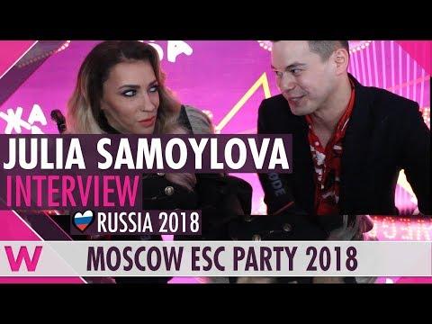 Julia Samoylova (Russia 2018) Interview | Moscow Eurovision Party 2018