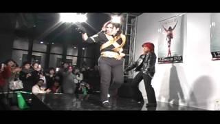 マイケルジャクソン THIS IS IT発売記念イベント 主催渋谷KING OF POPの動画
