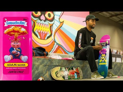 Garbage Pail Kids Unboxing - with Santa Cruz's Maurio McCoy