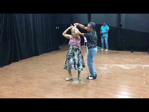 Vencedores da dança dos Idosos, promovido pelo IHEF
