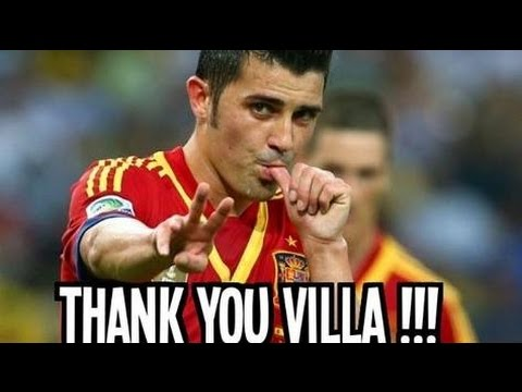 David Villa ► Spanish Legend ► Thank you for everything 2005-2014