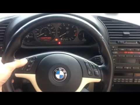 BMW E36: E46 M3 Steering Wheel Retrofit