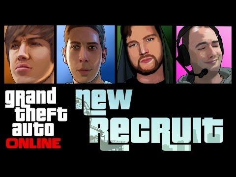 Grand Theft Auto 5 Online - New Recruit!