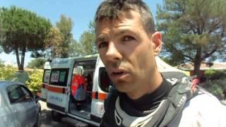 Sardegna Rally Race 2015: Rodrig Thain a la fin de la premiere etape