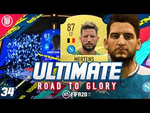 UCL SBC UNLOCKS!!! ULTIMATE RTG #34 - FIFA 20 Ultimate Team Road to Glory