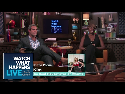NeNe Leakes Freaks Out - RHOA - WWHL