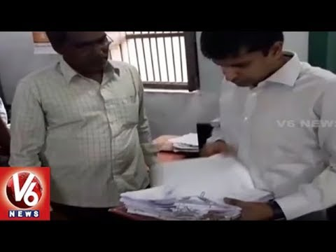 Rajanna Sircilla Collector Inspects District Treasury Office, Slams Officials On Irregularities | V6