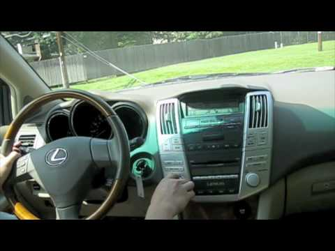 Test Drive The 2007 Lexus RX350 YouTube