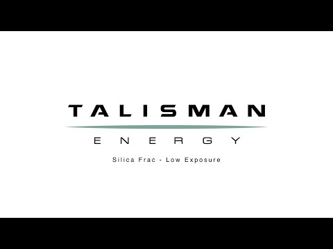 Talisman Energy - Silica Fracking