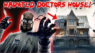 HAUNTED EVIL DOCTORS HOUSE AT 3 AM! 24 HOUR OVERNIGHT CHALLENGE IN THE HAUNTED EVIL DOCTORS HOUSE!!