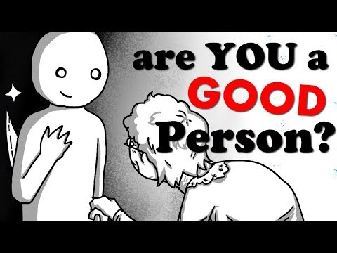By the way, are YOU a GOOD PERSON?   Harvard Moral Dilemma