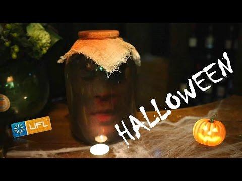 Веселый Halloween оформили UFL :) Цветочный партнер, ресторан Панорама   Хэллоуин
