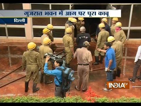 Delhi: Gujarat Bhavan fire brought under control