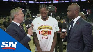 Kawhi Leonard Knows What It Means To Win An NBA Championship