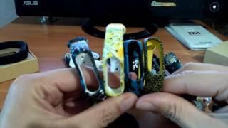 Сменный браслет ремешок для фитнес-трекера Xiaomi Mi Band 2