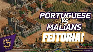 1v1 Islands | Portuguese vs Malians | Feitoria!