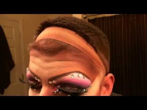 Drag Makeup Transformationl #1 Jaida Foxx