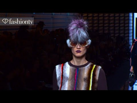 Fendi Fall/Winter 2013-2014 FIRST LOOK | Milan Fashion Week MFW | FashionTV