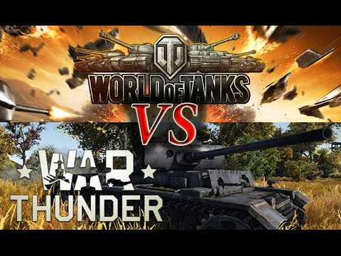 World Of Tanks VS War Thunder (Часть 1)