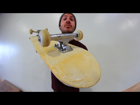 FIBERGLASS SKATEBOARD | YOU MAKE IT WE SKATE IT EP 91