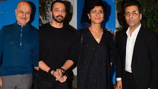 Manmohan Shetty's Birthday Party 2018 | Karan Johar, Rohit Shetty, Kiran Rao, Anupam Kher