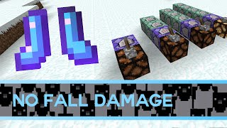 Minecraft: How To Turn Off Fall Damage