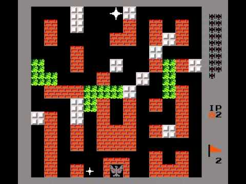 Battle City - Battle City Gameplay NES - User video