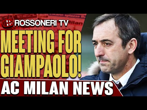 Meeting For Giampaolo! | AC Milan News | Rossoneri TV