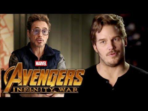 'Avengers: Infinity War': Chris Pratt and Robert Downey, Jr. Onscreen Together! thumbnail