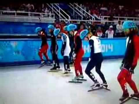 шёрт трек , мужчины, 1500м  Виктор Ан, олимпиада Сочи 2014