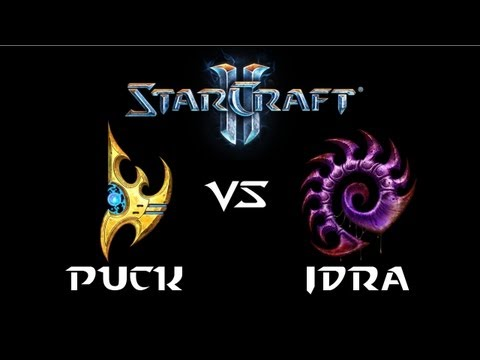 StarCraft 2 - puCK [P] vs IdrA [Z] (Commentary)