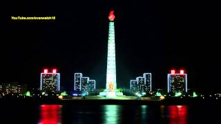 North Korean Song: Long Live the Great Juche Idea!