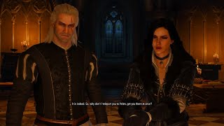 The Witcher 3: Wild Hunt – Conference with Yennefer