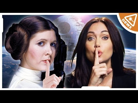 What is Leia's Secret? STAR WARS 7 Spoilers You Need to Know (Nerdist News w/ Jessica Chobot)