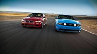 Super Coupes Drag Race!: 2011 Ford Mustang GT vs 2011 BMW M3 Coupe