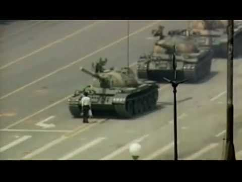 Tank Man of Tiananmen -— The Unknown Rebel