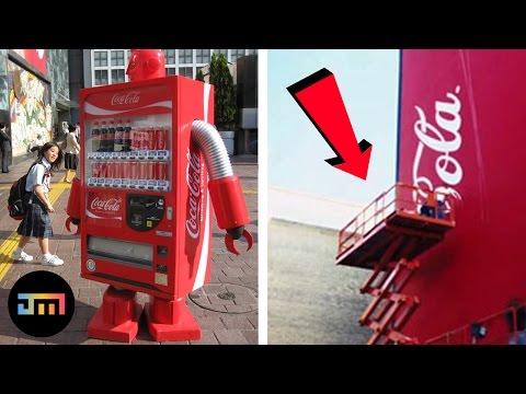 10 najfajniejszych automatów z Coca-Colą na świecie