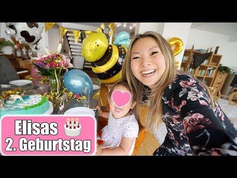 Elisas 2. Geburtstag