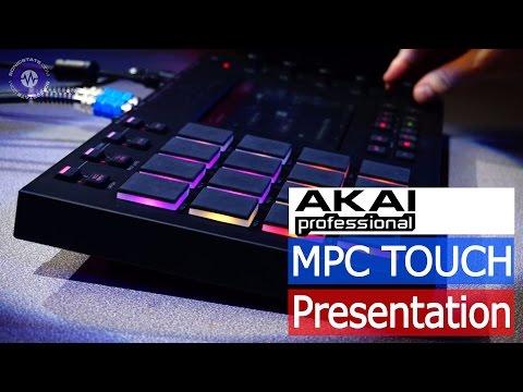 Akai MPC Touch Presentation