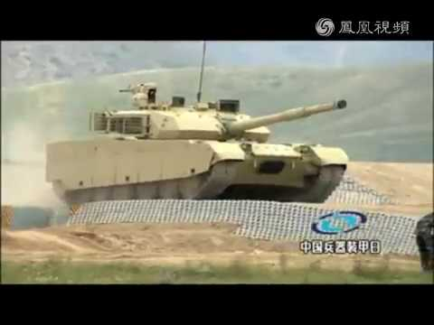 China foreign trade tank VT4(MBT-3000) show