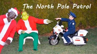 Little Heroes, The North Pole Patrol, Santa, The Grinch, Big Foot and Christmas Cops Video Parody