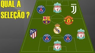 Soccer Quiz - Can you guess the Seleção by the team of players?