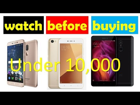 {Hindi} Top 5 smartphone under 10000 (2018) | Mobile Phones | Latest 4G ,4gb,64gb,4000 battery |