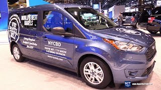 2019 Ford Transit Connect Premium - Exterior Interior Walkaround - Debut  2018 Chicago Auto Show