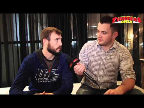 Ryan Couture UFC on FUEL TV 9 prefight interview
